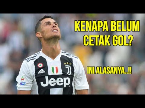 3 Alasan yang Bisa Memaklumi Ronaldo Belum Cetak Gol Untuk Juventus