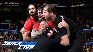 HINDI - Kurt Angle and The Shield lead a Raw raid of SmackDown: SmackDown LIVE, 14 November, 2017