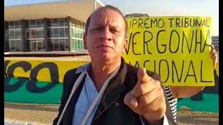Ataques ao STF - Manifestante preso