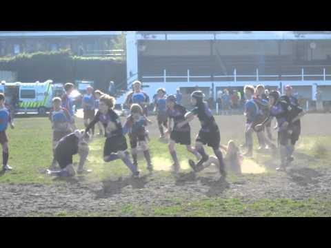 U13 Wallingford try by Joe McNamara vs Hove 2011
