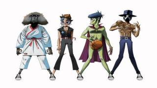 "Gorillaz- ""DoYaThing"" Feat. James Murphy & André 3000 YScRoll"