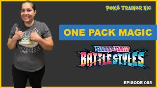 Pokémon Sword & Shield Battle Styles One Pack Magic or Not, Episode 05 #Shorts