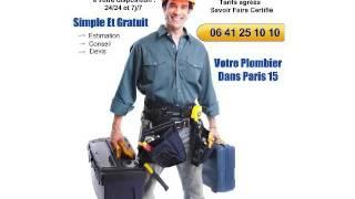 Urgence plombier paris 15 | Depannage plomberie paris 15-06 41 25 10 10(Un service de dépannage est là pour vous, en cas de problème de plomberie ou de chauffage. Nous intervenons rapidement pour régler au plus vite votre ..., 2016-01-27T15:40:02.000Z)