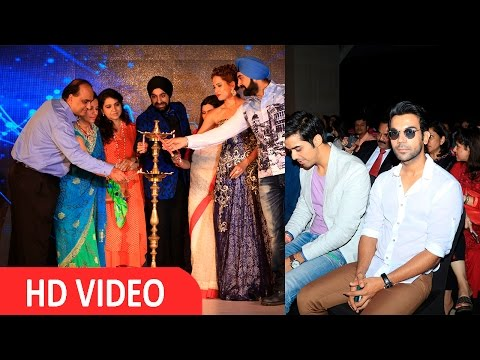Rajkumar Rao & Patralekha At Glamour 2016 A Bridal Affair I UNCUT