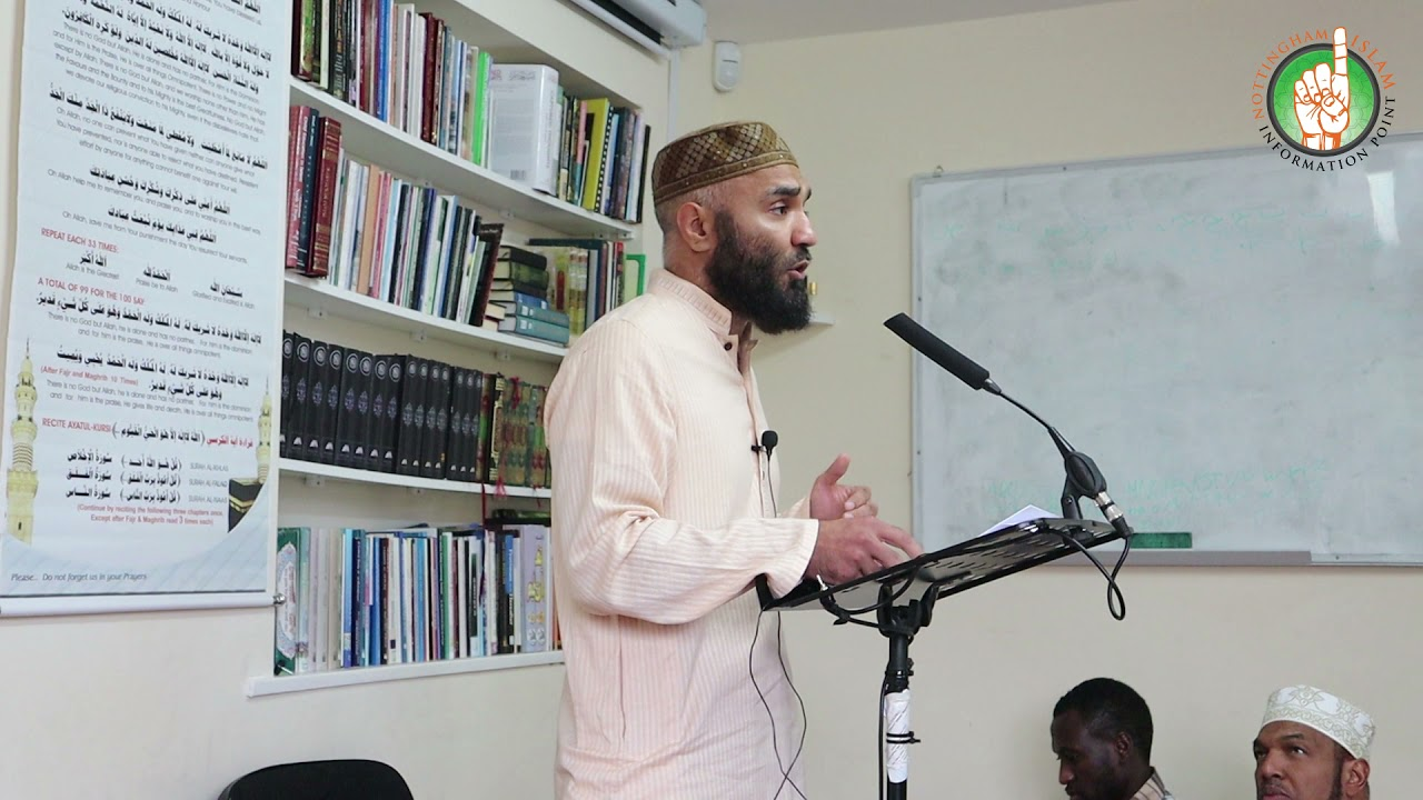 Becoming a Friend of Allah by Brother Waheed Hussain