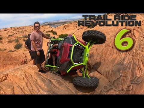 Trail Riding Sand Hollow UTAH with the ORB Crew - TRR EP6