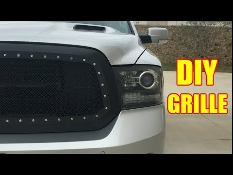 Installing a APS Grille Insert on a 13-18 4th Gen RAM 1500 - TruckTalk #36