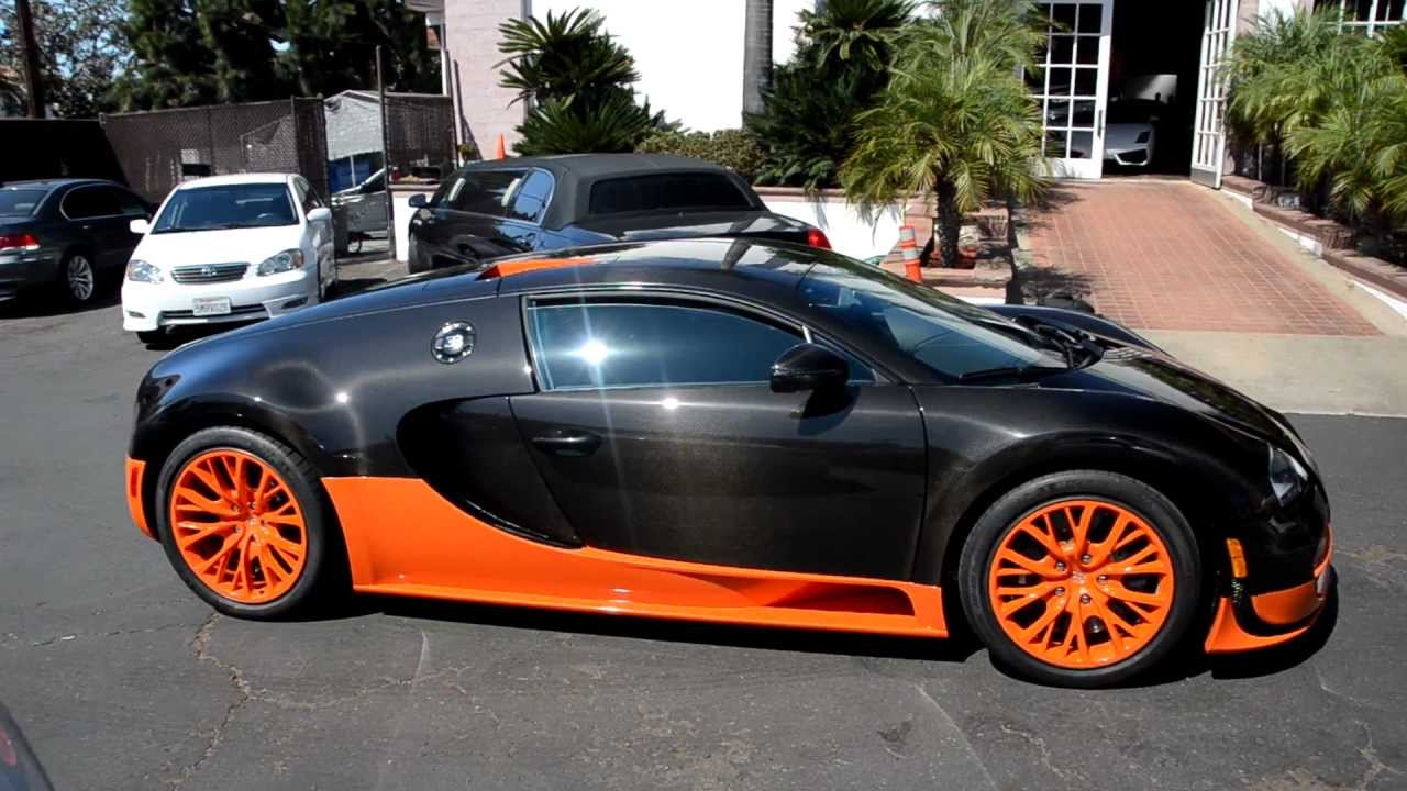 bugatti veyron supersports world record edition carbon orange hd youtube. Black Bedroom Furniture Sets. Home Design Ideas