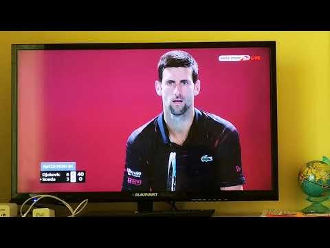 Novak Djokovic vs Go Soeda Match Point Tokyo