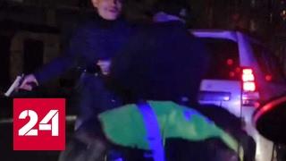 Во Владикавказе лихач обстрелял полицейских