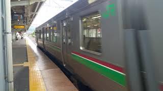 磐越西線719系 猪苗代発車