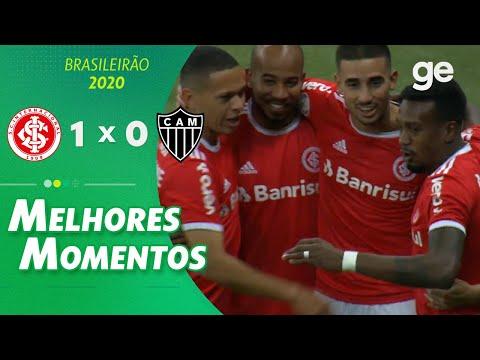 INTERNACIONAL 1 X 0 ATLÉTICO-MG| MELHORES MOMENTOS | 5ª RODADA BRASILEIRÃO 2020 | ge.globo