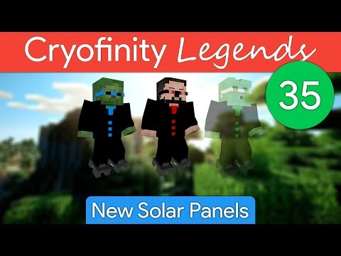 Cryofinity Legends EP35: New Solar Panels