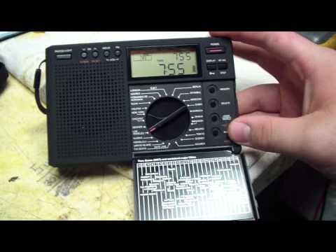Grundig G8 Traveler II Digital AM-LW-FM-SW World Time Radio.
