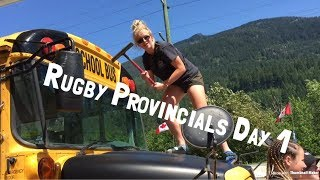 RUGBY PROVINCIALS DAY 1, 10 HOUR DRIVE | Maxine O'Leary