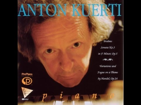 25. Variations and Fugue on a Theme by Handel, Opus 24 Variation XIX, Brahms, Anton Kuerti, Piano