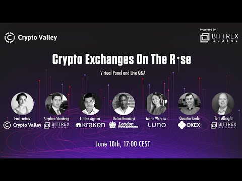 Crypto Exchanges On The Rise | Crypto Valley Association