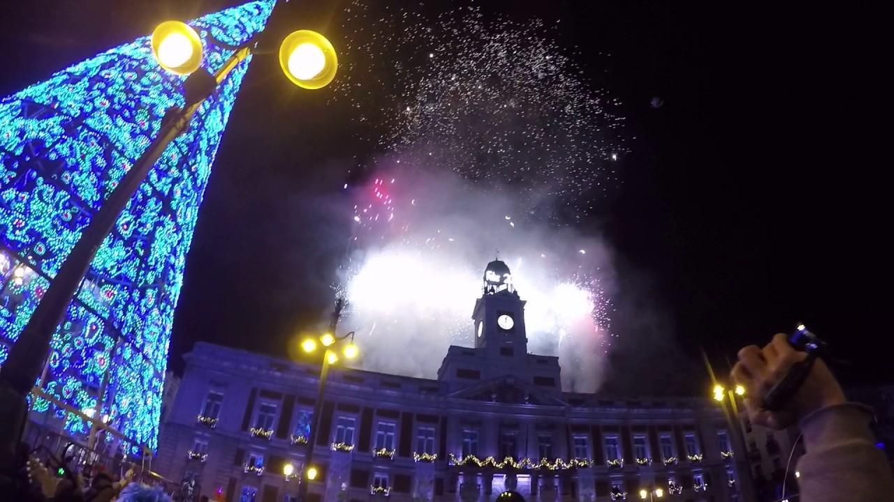 Fin de a o 2016 feliz 2017 puerta del sol madrid for Puerta del sol 2017