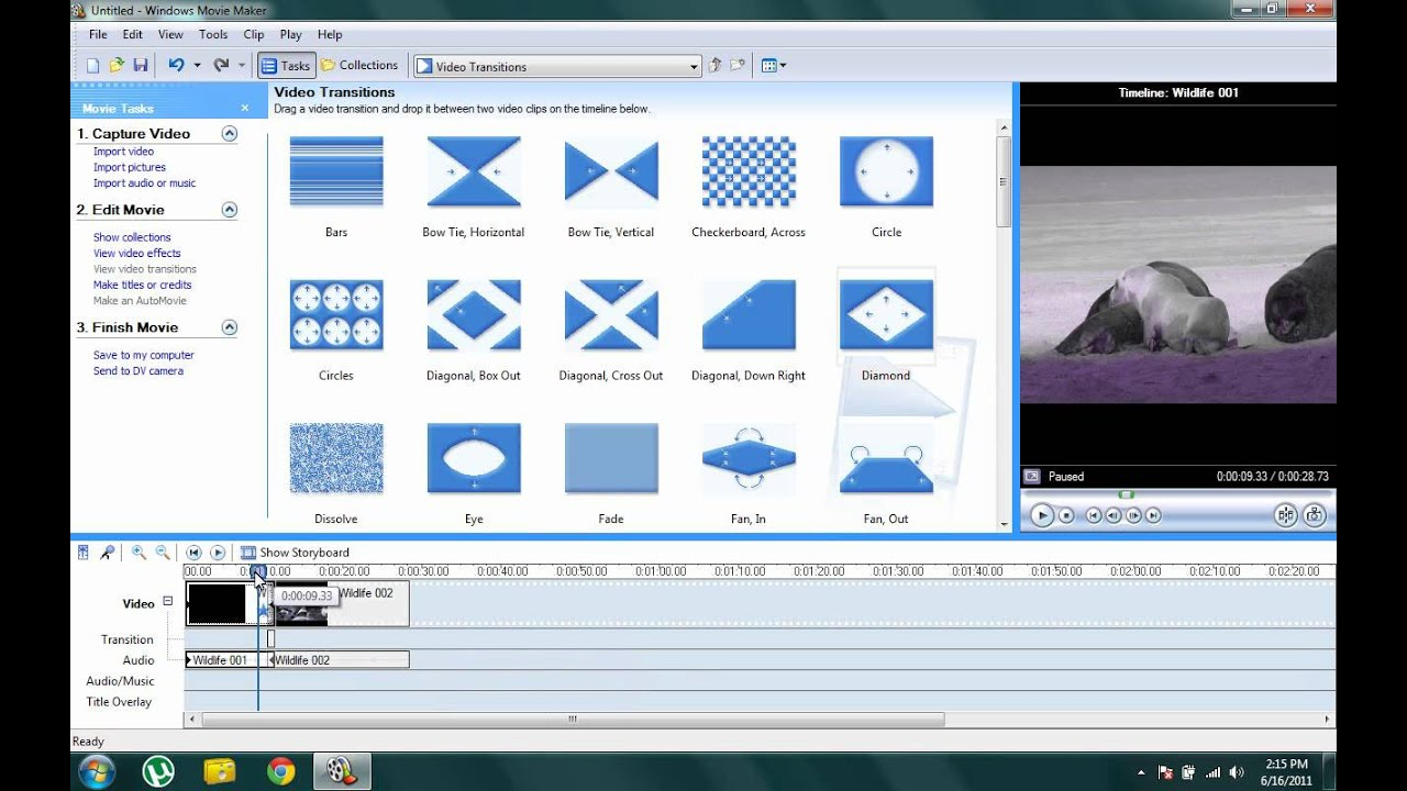 free movie maker effects and transitions downloads