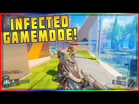 *NEW* INFECTED GAMEMODE MULTIPLAYER LOBBY! Black Ops 3 (BO3 MOD TOOLS)