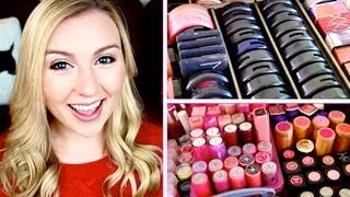 One of Allison Anderson's most viewed videos: My Makeup Collection & Vanity! December 2012 ❄ Christmas Countdown