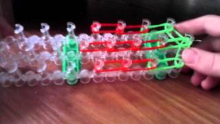 плетём из резинок раибол лум клубничку урок 1