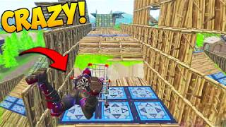 WORLD'S BIGGEST BOUNCE PAD TRACK! - Fortnite Funny Fails and WTF Moments! #241 (Daily Moments)