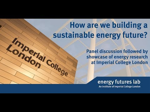 How are we building a sustainable energy future?