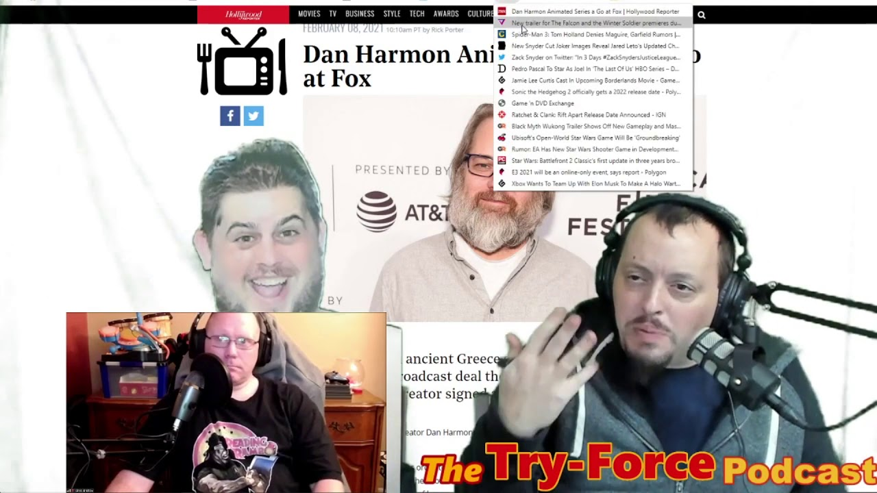 #196 Try-Force Podcast: He's So Ratchet And Frank
