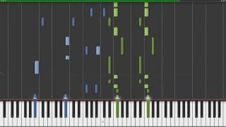 쏘아올린 불꽃(打上花火) 피아노(Piano Synthesia/ピアノ)
