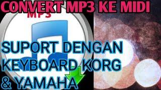 convert MP3 ke MIDI/WAV-convert MP3 to MIDI / WAV