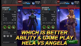 HANGİSİ DAHA İYİ VOL #4 - HELA VS ANGELA - MCOC - MARVEL CONTEST OF CHAMPIONS