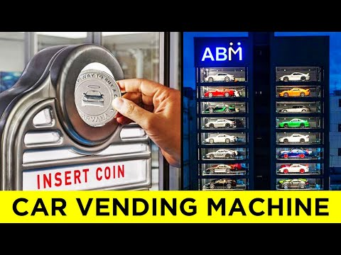 Top 30 Weirdest Things Sold in Vending Machines