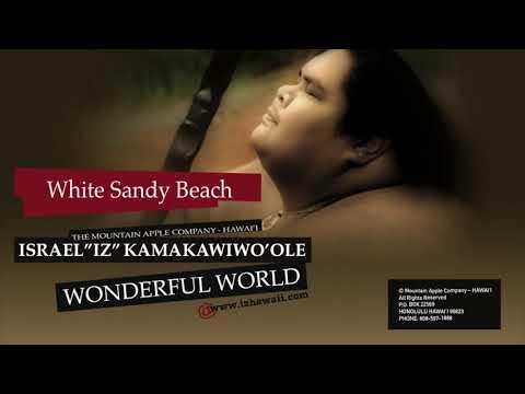 "OFFICIAL Israel ""IZ"" Kamakawiwoʻole - ""White Sandy Beach"""