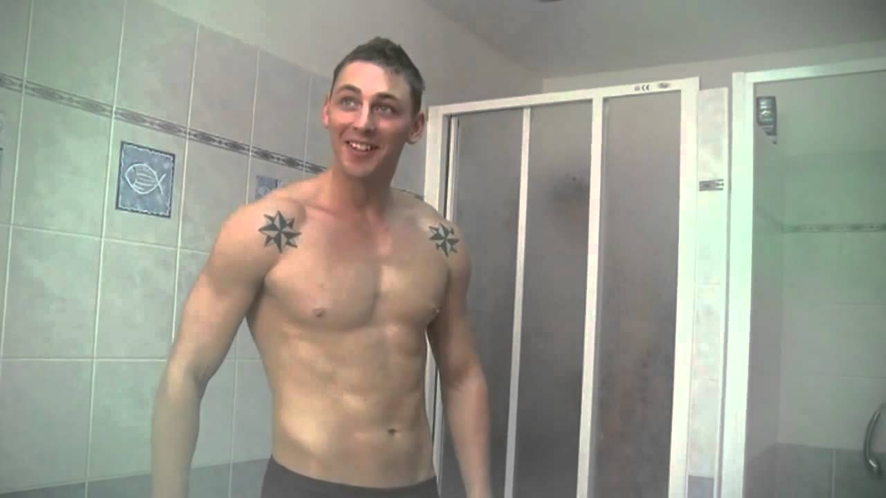boy shower Naked