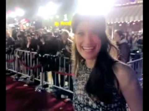 Beowulf Red Carpet Premiere with Idina Menzel