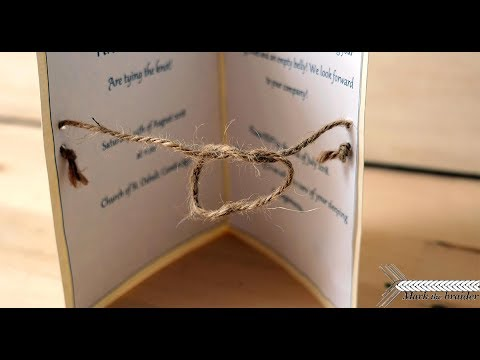 Knot Themed Wedding Invitations