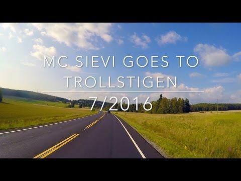 Mc Sievi goes to Trollstigen and Geiranger
