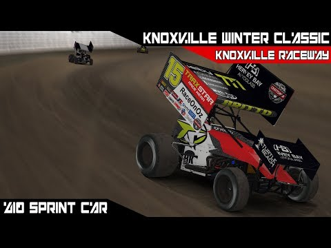 iRacing - Knoxville Winter Classic @ Knoxville Raceway Race 2
