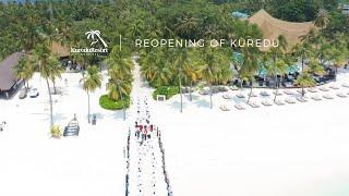 Reopening of Kuredu Island Resort & Spa, Maldives