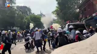 Al menos 38 manifestantes muertos en Birmania tiroteados por las fuerzas de seguridad