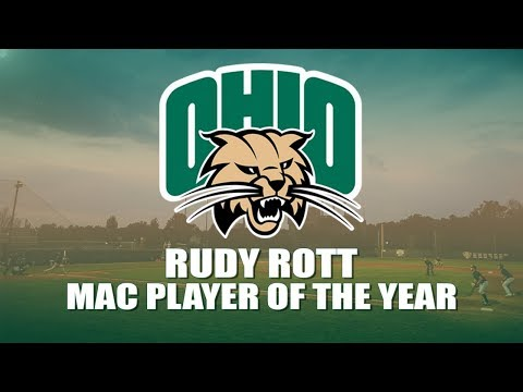 Ohio Baseball 2018: Rudy Rott (MAC Player of the Year)
