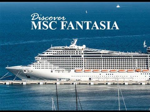 5 Days Aboard  MSC Fantasia