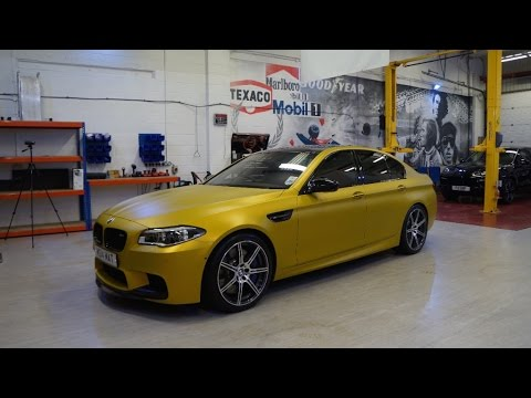 Bmw M5 Fully Wrapped By Pw Pro Youtube