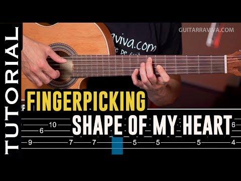 Especial FINGERPICKING: Cómo tocar Shape Of My Heart  | Guitarraviva