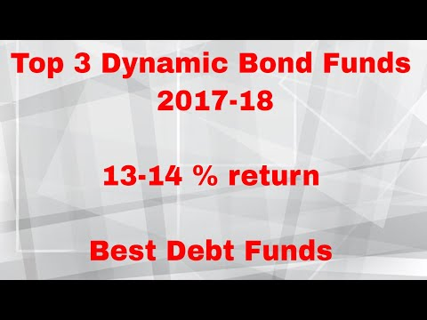 Top 3 Dynamic Bond Funds 2017-18 | 13-14 % return | Best Debt Funds