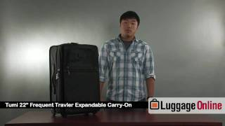 "TUMI 22"" Frequent Business Traveler Carry On Review - Luggage Online"