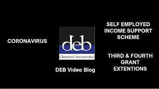 Self Employed Income Support Scheme - 3rd \u0026 4th Extensions