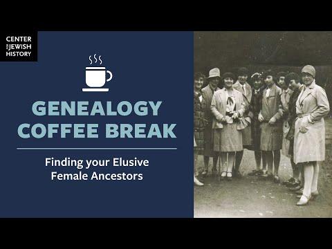 Finding Your Elusive Female Ancestors