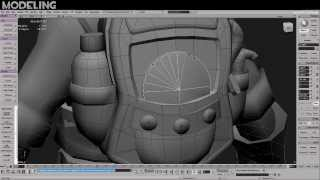 """TF2 Timelapse: modeling """"Packable Provisions"""" (full process)"""